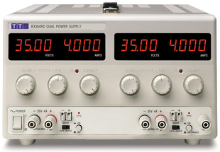 Aim-TTI EX752M Bench DC Power Supply, Mixed-mode Regulation, Analog Controls Dual Output 2 x 75V/2A