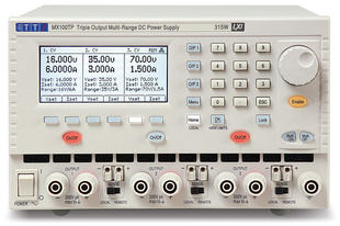 Aim-TTI MX100T Bench/System DC Power Supply, Multi-Range, Digital Control Triple Outputs, 3 x 35V/3A 315W, No Interfaces