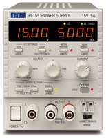 Aim-TTI PL155-P Bench System DC Power Supply, Linear Regulation, Smart Analog Controls Single Output, 15V/5A, USB, RS232 & LAN, GPIB Interfaces