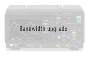 Keysight D1202BW3A Bandwidth upgrade, 100 MHz to 200 MHz, for DSOX1202X, hardware enabled functional
