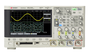 Keysight DSOX2014A Oscilloscope, 4-channel, 100MHz