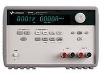 Keysight E3649A DC power supply, dual output, dual range: 0-35 V/ 1.4 A, 0-60V/ 0.8 A, 100 W. GP