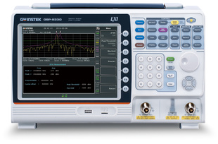 GW Instek_GSP-9330TG 3.25GHz Spectrum Analyzer, Tracking Generator