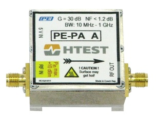 H TEST PE-PA D - USB powered RF preamplifier